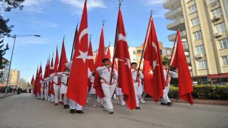 Büyük Önder Atatürk'ün Osmaniye'ye Gelişinin 95.Yıldönümü Törenle Kutlandı