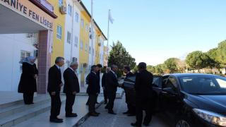 Güçlü, Anadolu Mektebi Değerlendirme Toplantısına Katıldı