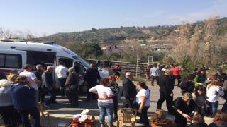 Kadınlar günü gezisi dönüşü kaza;42 yaralı