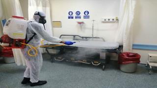Osmaniye Devlet Hastanesi dezenfekte ediliyor