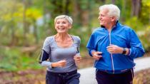 Yakın akrabası Alzheimer hastası olan öğrenci de koştu