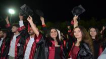 OKÜ'lü mezunlar keplerini attı