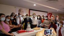 Sağlık personeline sertifika töreni düzenlendi