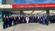 Düziçi Heyeti Ankara'ye çıkarma yaptı